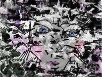 Blick, Schwarz, Malerei