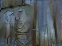 Baumfrau, Malerei