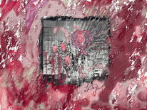 Explosion, Liebe, Gefuhle, Digitale kunst