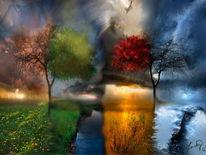 Malerei, Jahreszeiten