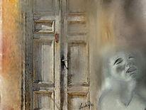 Vor verschlossener tür  Tür - 413 Bilder und Ideen auf KunstNet | Fotografie, Haus und Malerei