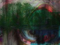Farben, Wald, Digitale kunst