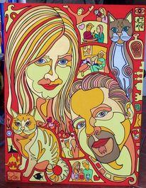 Paar, Katze, Malta, Hochzeit