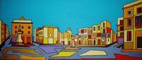 Malta, Birgu, Vittoriosa, Malerei