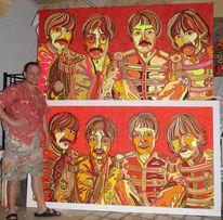 John lennon, Beatles, Malerei, Seh