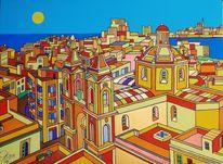 Malta, Maris, Valletta, Malerei