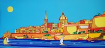 Valletta malta sliema, Malerei