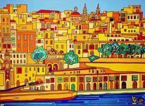 Malta, Valletta, Sonne, Vittoriosa