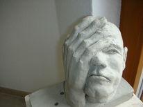 Gesicht, Mann, Vergessen, Hand