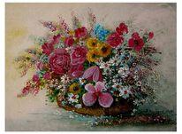 Verblühen, Strauß, Blumen, Blüte