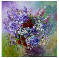 Sommerblumen, Mohnblüten, Verzaubern, Zart