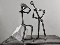 Metall, Surreal, Skulptur, Kunsthandwerk