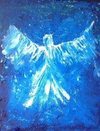 Engel, Frieden, Liebe, Blau