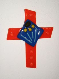 Fusing, Glas, Kreuz, Glaskreuz