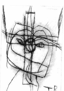 Druckgrafik, Grafik, Kreuz