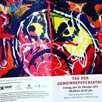 Augen, Outsider art, Hände, Pinnwand