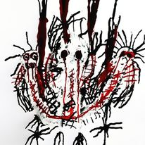 Artbrut, Psychiatrie, Outsider art, Malerei