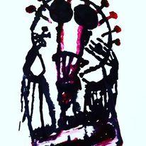 Blut, Herz, Traurig, Malerei