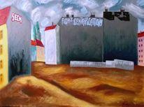 Graffiti, Gebäude, Malerei