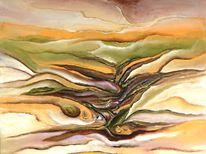 Pastellmalerei, Struktur, Gemälde, Acrylmalerei