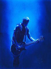 Konzert, Rockmusik, Rammstein, Gitarist