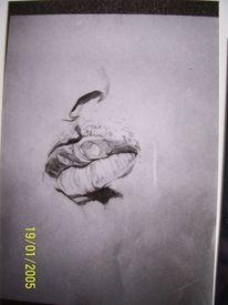 Mund, Will smith, Bleistiftzeichnung, Mann