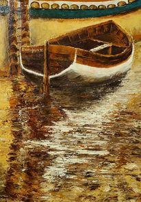 Acrylmalerei, Gemälde, Palette, Textur