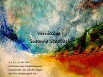 Vernissage, Einladung, Pinnwand,
