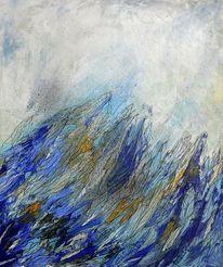 Energie, Experimentell, Struktur, Blau