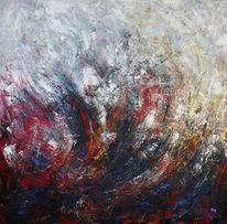 Wut, Gemälde, Temperament, Blau