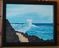 Wasser, Welle, Brandung, Meer