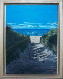 Ostsee, Wasser, Strand, Malerei