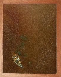 Abstrakt, Malerei, Rost, Acrylmalerei
