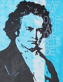 Popart, Malerei, Beethoven