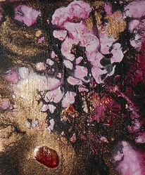 Acrylmalerei, Frühling, Malerei