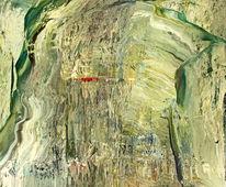 Abstrakt, Kreta, Ölmalerei, Berge