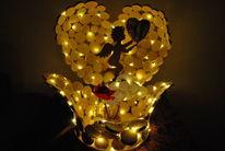 Lampe, Engel, Skulptur, Kunsthandwerk