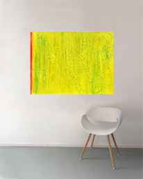 Großformat, Sonne, Modern art, Frische