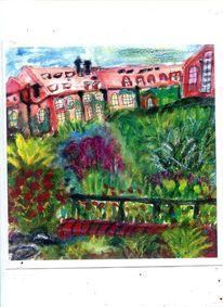 Malerei, Garten, Berlin