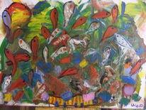 Freiheit, Frieden, Malerei, Fliegende