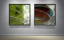 Reflexion, Licht, Glas, Kreis