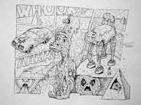 Wasser, Comic, Elfen, Wesen