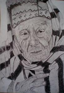 Gesicht mann alt, Zeichnungen