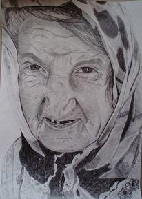 Frau fremd tuch, Zeichnungen, Istanbul