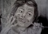 Kind fremd gesicht, Zeichnungen, Kind, Fremd