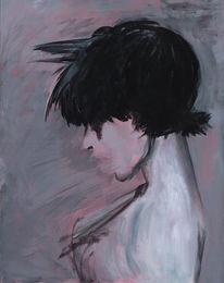 Ausdruck, Sprache, Acrylmalerei, Malerei