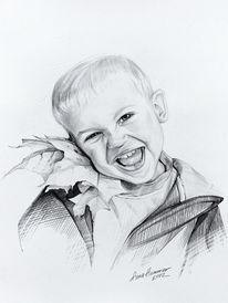 Portrait, Kinder, Menschen, Zeichnungen