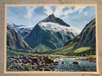 Landschaft, Natur, Berge, Neuseeland