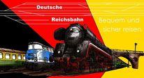 Deutsche reichsbahn, Zeichnungen, Typisch ddr