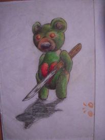 Bär, Horror, Teddy, Böse